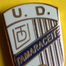 Collectionnisme sportif: PIN FÚTBOL, U.D. TAMARACENSE. Lote 257692150