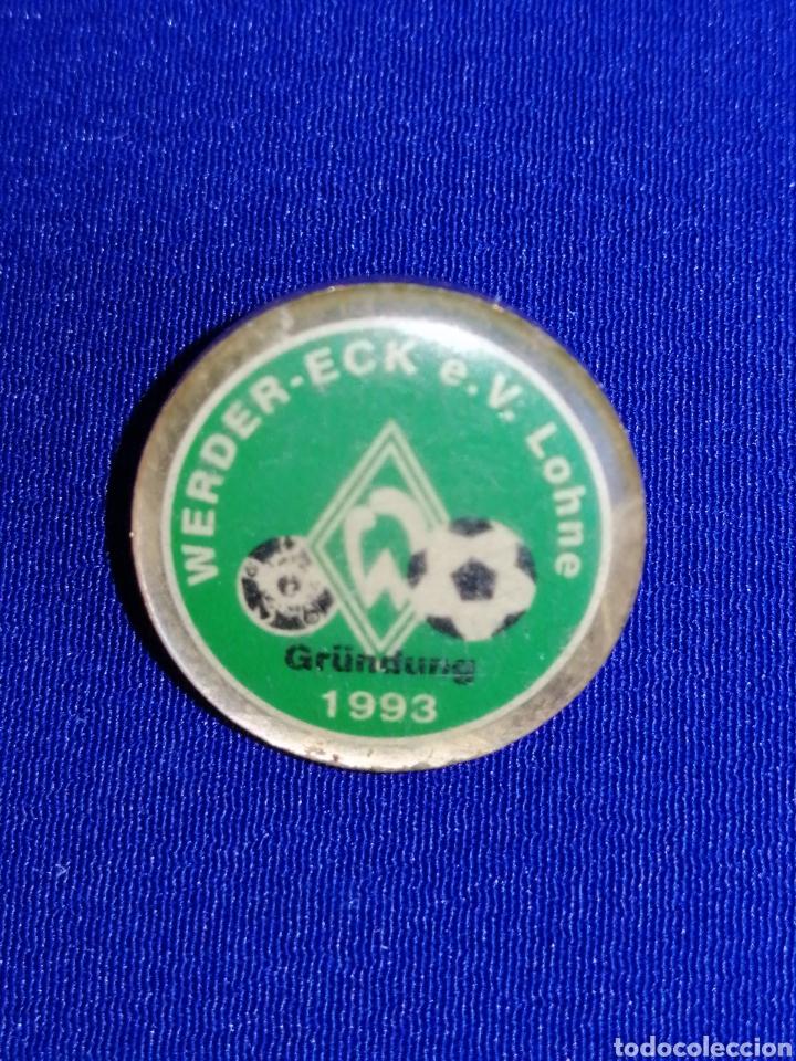 PIN FÚTBOL WERDER - ECK E. V LOHNE 1993 (Coleccionismo Deportivo - Pins de Deportes - Fútbol)