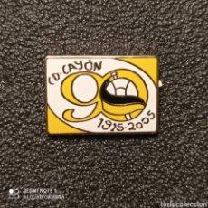 Collezionismo sportivo: PIN C.D. CAYON - SARON (CANTABRIA). Lote 260771390