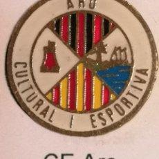 Coleccionismo deportivo: PIN FUTBOL - GIRONA - CASTELL D'ARO - ARO CULTURAL I ESPORTIVA. Lote 260788505