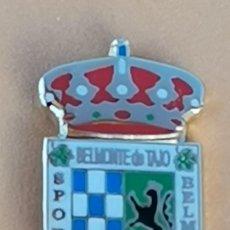 Coleccionismo deportivo: PIN DE FÚTBOL... SPORTING BELMONTEÑO.. MADRID. Lote 260803510