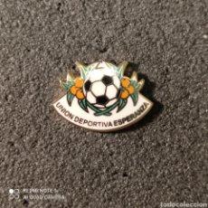 Coleccionismo deportivo: PIN U.D. ESPERANZA - SILLA (VALENCIA). Lote 261645420