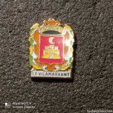 Coleccionismo deportivo: PIN C.F. VILAMARXANT - VILAMARXANT (VALENCIA). Lote 261645585