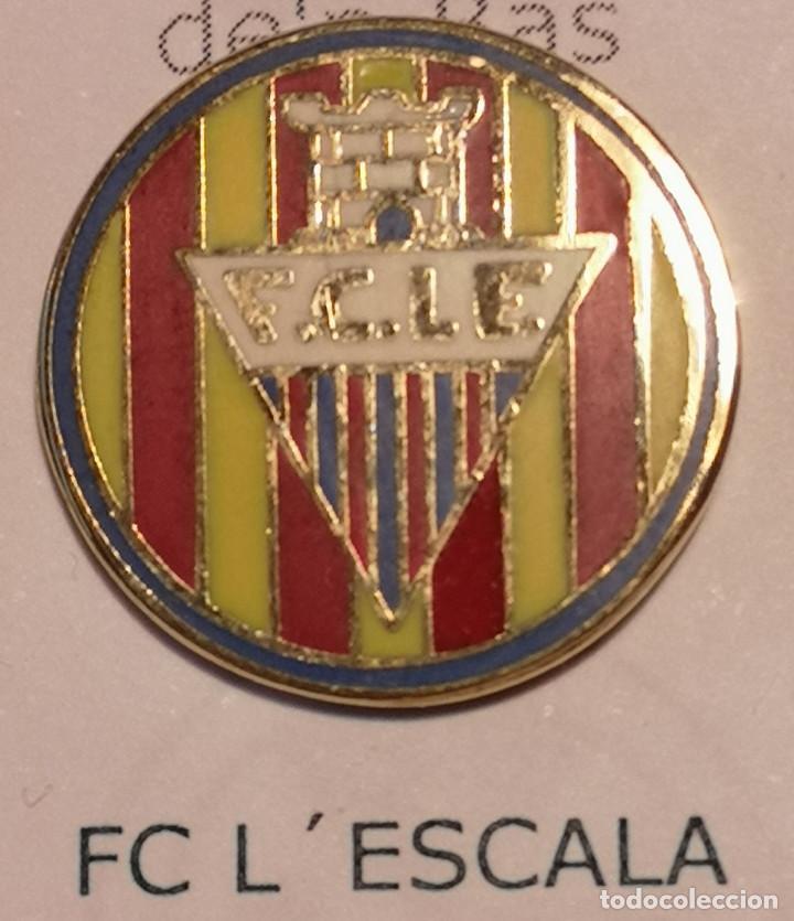 PIN FUTBOL - GIRONA - LESCALA - FC LESCALA (Coleccionismo Deportivo - Pins de Deportes - Fútbol)
