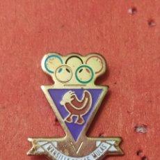 Coleccionismo deportivo: PINS DE FÚTBOL MANSILLA CF. LEÓN. Lote 262052435
