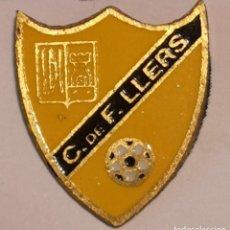 Coleccionismo deportivo: PIN FUTBOL - GIRONA - LLERS - C.DE F. LLERS. Lote 262348065
