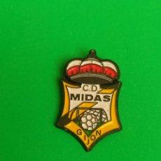 Collectionnisme sportif: PINS DE FÚTBOL. CD MIDAS. GIJÓN. ASTURIAS. Lote 264784784