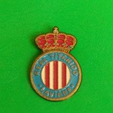 Collectionnisme sportif: PINS DE FÚTBOL. OFICIAL. REAL TITÁNICO LAVIANA. ASTURIAS. Lote 264785224