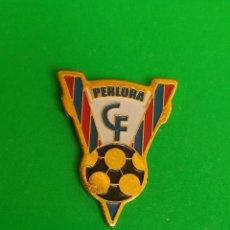 Collectionnisme sportif: PINS DE FÚTBOL PERLORA CF ASTURIAS. Lote 264788419