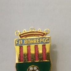 Coleccionismo deportivo: INSIGNIA DE FÚTBOL. F. B. BONREPOS VALENCIA. Lote 265953428