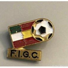 Coleccionismo deportivo: PIN CAMPEONATO MUNDO ESPAÑA 1982 FEDERACION ITALIANA DE FUTBOL. Lote 266149628