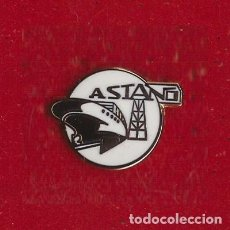 Collezionismo sportivo: PIN ESCUDO DE FÚTBOL C. ASTANO ( FERROL / A CORUÑA ). Lote 267605259