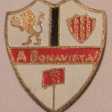 Coleccionismo deportivo: PIN FUTBOL - TARRAGONA - BONAVISTA - ATLETIC BONAVISTA. Lote 267859864