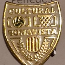 Coleccionismo deportivo: PIN FUTBOL - TARRAGONA - BONAVISTA - CULTURAL BONAVISTA. Lote 267886214