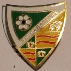 Coleccionismo deportivo: PIN FUTBOL - TARRAGONA - CABASSERS - FC CABASSERS. Lote 267888509