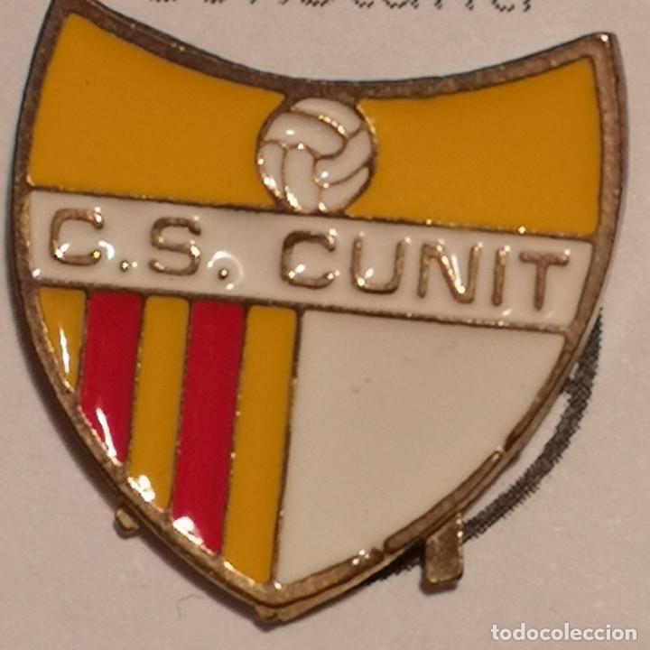 PIN FUTBOL - TARRAGONA - CUNIT - CS CUNIT (Coleccionismo Deportivo - Pins de Deportes - Fútbol)