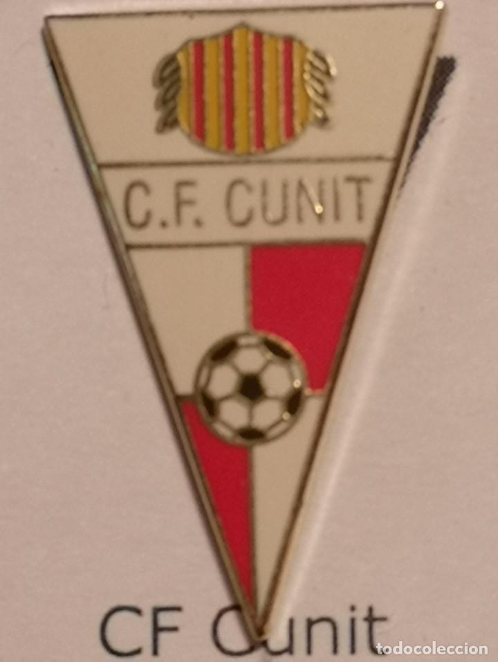PIN FUTBOL - TARRAGONA - CUNIT - CF CUNIT (Coleccionismo Deportivo - Pins de Deportes - Fútbol)