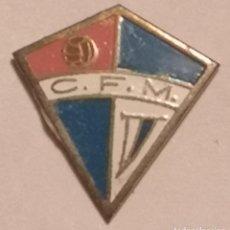 Coleccionismo deportivo: PIN FUTBOL - TARRAGONA - MARÇA - CF MARÇA. Lote 269050188