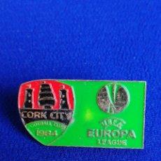 Coleccionismo deportivo: PIN UEFA EUROPA LEAGUE CORK CITY. Lote 269110283