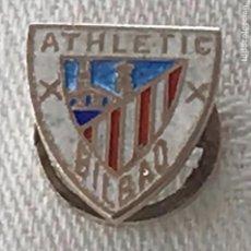 Collectionnisme sportif: INSIGNIA DE SOLAPA DEL ATLETICO DE BILBAO, ESMALTADA A FUEGO, MIDE 1,5 CMS.. Lote 269190978