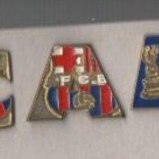 Coleccionismo deportivo: LOTE DE 9 PINS DEL PUZLE TRICAMPIO-BARCELONA FC-BARCELONA.. Lote 269835708