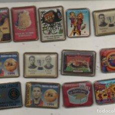 Coleccionismo deportivo: LOTE DE 13 PINS F.C.BARCELONA-BARCELONA. Lote 269837388