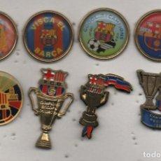 Coleccionismo deportivo: LOTE DE 8 PINS-F.C.BARCELONA-BARCELONA. Lote 269837628
