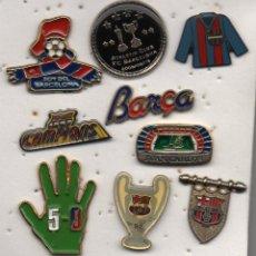 Coleccionismo deportivo: LOTE DE 9 PINS-F.C.BARCELONA-BARCELONA.. Lote 269837723