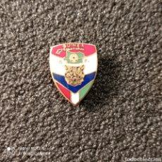 Colecionismo desportivo: PIN FEDERACION DE FUTBOL DE GUINEA ECUATORIAL. Lote 270949243