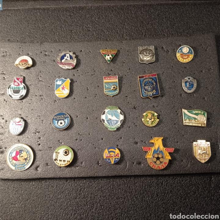 LOTE 3 DE 20 PINS DE UCRANIA (Coleccionismo Deportivo - Pins de Deportes - Fútbol)