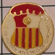 Coleccionismo deportivo: PIN FUTBOL - BARCELONA - GIRONELLA - CF ATLETICO DE GIRONELLA. Lote 277208088