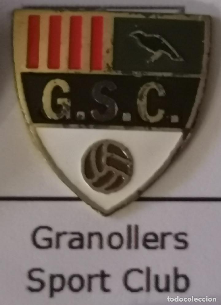 PIN FUTBOL - BARCELONA - GRANOLLERS - GRANOLLERS SPORT CLUB (Coleccionismo Deportivo - Pins de Deportes - Fútbol)