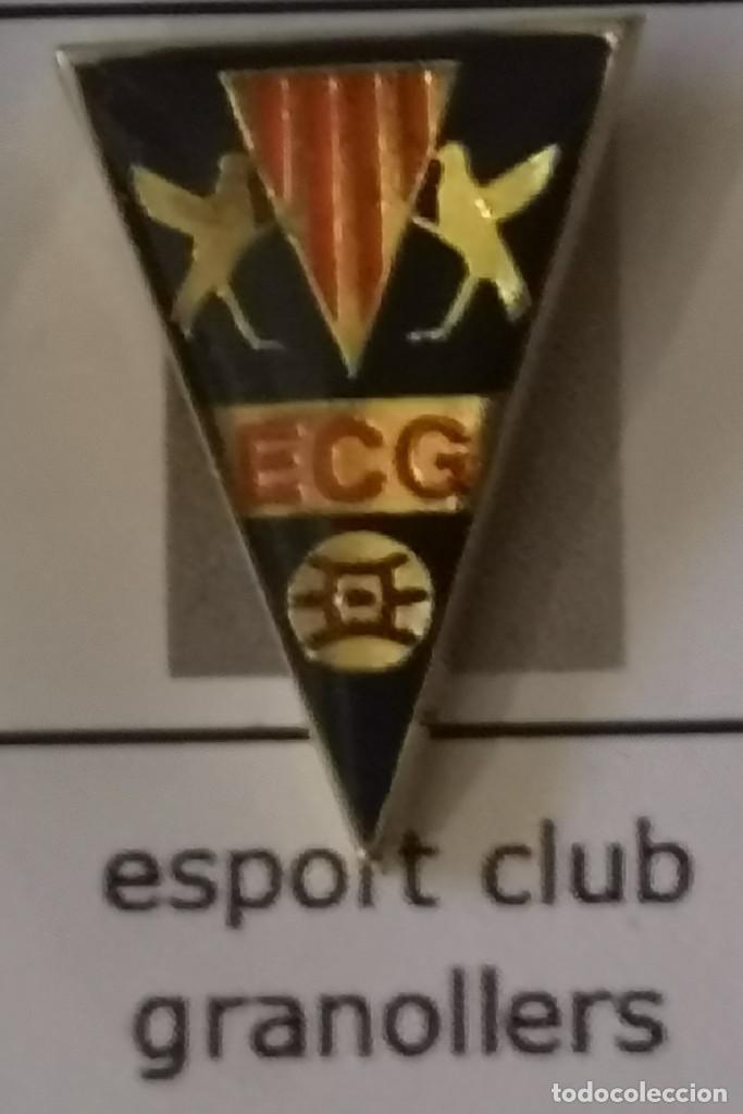 PIN FUTBOL - BARCELONA - GRANOLLERS - ESPORT CLUB GRANOLLERS (Coleccionismo Deportivo - Pins de Deportes - Fútbol)