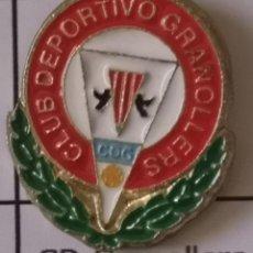 Coleccionismo deportivo: PIN FUTBOL - BARCELONA - GRANOLLERS - CD GRANOLLERS. Lote 277208753