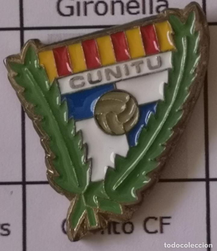 PIN FUTBOL - BARCELONA - GRANOLLERS - CUNITU CF (Coleccionismo Deportivo - Pins de Deportes - Fútbol)