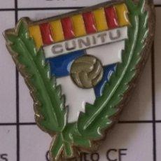 Coleccionismo deportivo: PIN FUTBOL - BARCELONA - GRANOLLERS - CUNITU CF. Lote 277209018