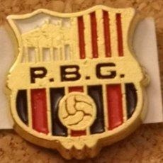 Coleccionismo deportivo: PIN FUTBOL - BARCELONA - GRANOLLERS - PENYA BARCELONISTA GRANOLLERS. Lote 277209108