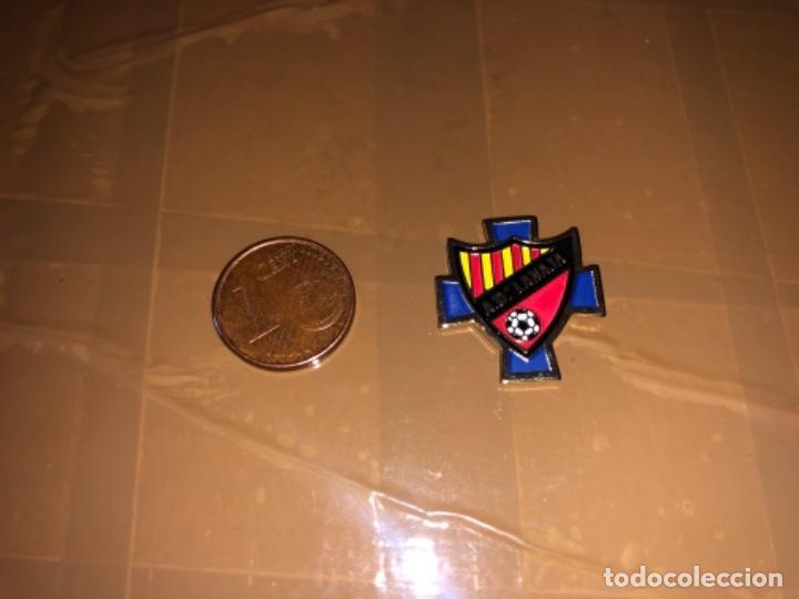 PIN EQUIPO DE FÚTBOL LANAJA (Coleccionismo Deportivo - Pins de Deportes - Fútbol)