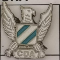 Coleccionismo deportivo: PIN FUTBOL - BARCELONA - HOSPITALET DE LLOBREGAT - CD AGUILARENSE. Lote 277668963