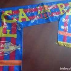 Coleccionismo deportivo: FC BARCELONA DREAM TEAM BUFANDA FUTBOL FOOTBALL SCARF. Lote 277696203