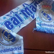 Coleccionismo deportivo: REAL MADRID BUFANDA FUTBOL FOOTBALL SCARF. Lote 277696288