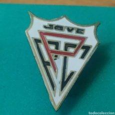 Coleccionismo deportivo: INSIGNIA DE FÚTBOL FC PELAYO JOVE. GIJÓN ASTURIAS. Lote 287882353