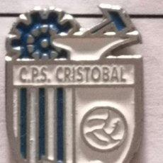 Coleccionismo deportivo: PIN FUTBOL - BARCELONA - TERRASSA - CLUB PARROQUIAL SAN CRISTOBAL. Lote 288011833