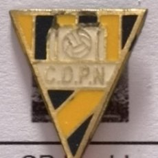 Coleccionismo deportivo: PIN FUTBOL - BARCELONA - TERRASSA - CD PUEBLO NUEVO. Lote 288012863