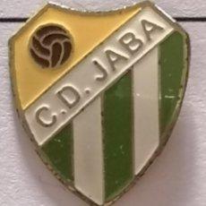 Coleccionismo deportivo: PIN FUTBOL - BARCELONA - TERRASSA - CD JABA. Lote 288013173