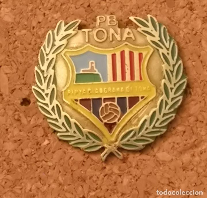 PIN FUTBOL - BARCELONA - TONA - PENYA BLAUGRANA (Coleccionismo Deportivo - Pins de Deportes - Fútbol)