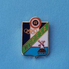 Coleccionismo deportivo: PIN DE FÚTBOL.... CULTURAL Y RECREATIVO REPESA.... MURCIA. Lote 288327133