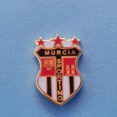 Coleccionismo deportivo: PIN DE FÚTBOL.... MURCIA SPORTING.... MURCIA. Lote 288327978
