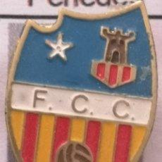 Coleccionismo deportivo: PIN FUTBOL - BARCELONA - DESCONOCIDO ( FCC ) - IDENTIFICAR - SOLAPA. Lote 289028478
