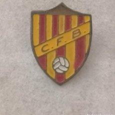 Coleccionismo deportivo: PIN FUTBOL - BARCELONA - C.F.B. - AGUJA. Lote 289028553